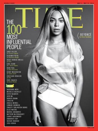 Beyoncé covers TIME magazine '100 Most Influential People' Issue