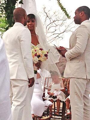 PHOTO from Kelly Rowland's Wedding arise