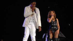 Jay Z and Beyoncé at Soldier Field/July 24, 2014/Photo by Devin' Torkelsen