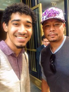 Terrence Howard and Devin Torkelsen 9/3/14