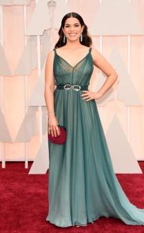 America Ferrera at the 87th annual Academy Awards