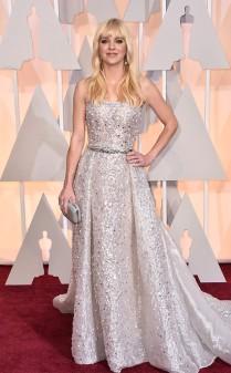 Anna Faris at the 87th annual Academy Awards