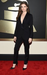 Anna Kendrick at the 57th annual Grammy Awards