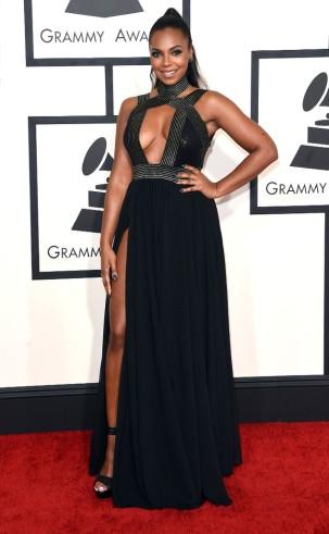 Ashanti at the 57th annual Grammy Awards