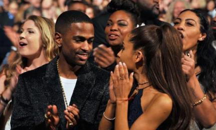 Big Sean and Ariana Grande at Stevie Wonder: Songs In The Key of Life – An All-Star Grammy Salute event on Feb. 10, 2015.