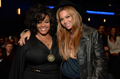 Jill Scott and Beyoncé at the Stevie Wonder: Songs In The Key of Life – An All-Star Grammy Salute event on Feb. 10, 2015.
