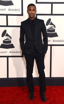 Big Sean at the 57th annual Grammy Awards