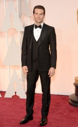 Bradley Cooper at the 87th annual Academy Awards