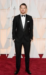 Channing Tatum at the 87th annual Academy Awards
