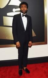 Childish Gambino at the 57th annual Grammy Awards