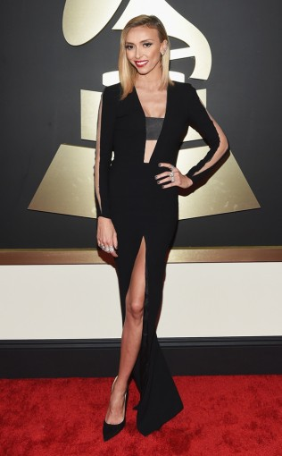 Giuliana Rancics' second look on the carpet at the 57 annual Grammy Awards