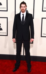 Hozier at the 57th annual Grammy Awards