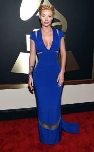 Iggy Azalea at the 57th annual Grammy awards