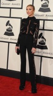 Giuliana Rancic at the 57th Annual Grammy Awards in L.A.