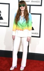 Jenny Lewis at the 57th annual Grammy Awards