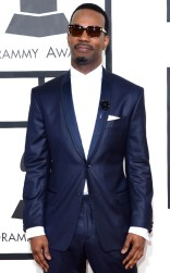 Juicy J at the 57th annual Grammy Awards.