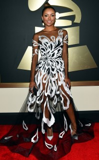 Kat Grham at the 57th Annual Grammy Awards