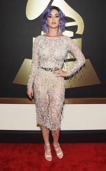 Katy Perry at the 57th annual Grammy Awards