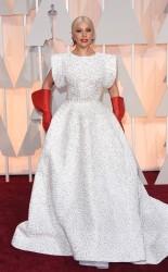 Lady Gaga at the 87th annual Academy Awards