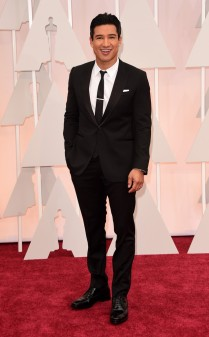 Mario Lopez at the 87th annual Academy Awards