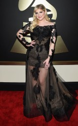 Meghan Trainor at the 57th annual Grammy Awards