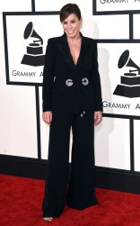 Melissa Rivers at the 57th Annual Grammy Awards
