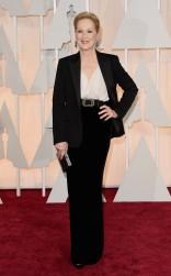 Meryl Streep at the 87th annual Academy Awards