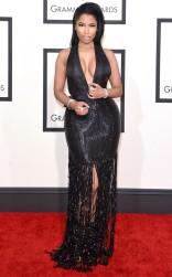 Nicki Minaj at the 57th annual Grammy Awards