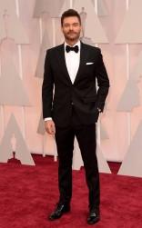 Ryan Seacrest at the 87th annual Academy Awards