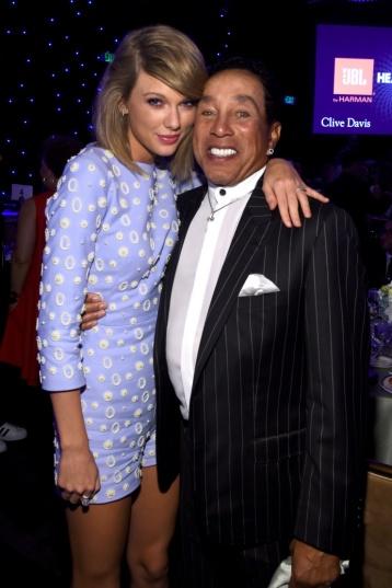 Taylor Swift and Smokey Robinson