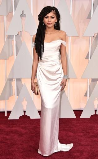 Zendaya at the 87th annual Academy Awards