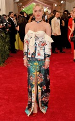 Chloe Sevigny at the 2015 Met Gala on May 4, 2015 at the Costume Institute Benefit Gala at the Metropolitan Museum of Art in New York.