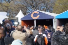 NFL Draft Town in downtown Chicago April 30, 2015.