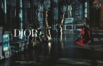 """Rihanna slays as first black woman to spokesmodel for Dior's """"Secret Garden"""" Summer 2015 campaign."""
