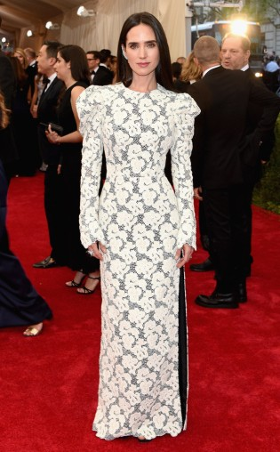 Jennifer Connelly at the 2015 Met Gala on May 4, 2015 at the Costume Institute Benefit Gala at the Metropolitan Museum of Art in New York.