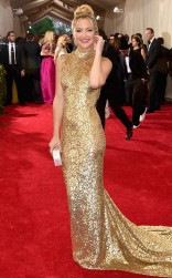 Kate Hudson at the 2015 Met Gala on May 4, 2015 at the Costume Institute Benefit Gala at the Metropolitan Museum of Art in New York.