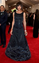 Katie Holmes at the 2015 Met Gala on May 4, 2015 at the Costume Institute Benefit Gala at the Metropolitan Museum of Art in New York.