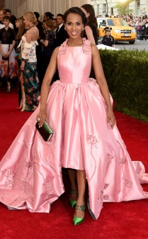 Kerry Washington at the 2015 Met Gala on May 4, 2015 at the Costume Institute Benefit Gala at the Metropolitan Museum of Art in New York.