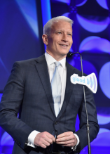 Anderson Cooper at the 2015 GLAAD Media Awards on Saturday red carpet in New York City on May 9th, 2015.