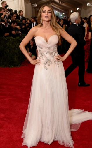 Sofia Vergara at the 2015 Met Gala on May 4, 2015 at the Costume Institute Benefit Gala at the Metropolitan Museum of Art in New York.