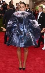 Solange Knowles at the 2015 Met Gala on May 4, 2015 at the Costume Institute Benefit Gala at the Metropolitan Museum of Art in New York.