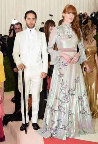 Jared Leto and Florence Welch