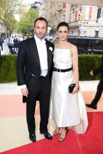 Tom Ford and Livia Firth