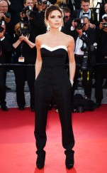 Victoria Beckham looking simplistic and chic at the 2016 Cannes Film Festival