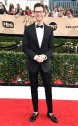 Brad Goreski at the 2017 Screen Actors Guild Awards (SGA Awards) Red Carpet on Jan. 29, 2017.