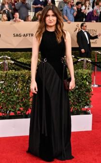 Kathryn Hahn at the 2017 Screen Actors Guild Awards (SGA Awards) Red Carpet on Jan. 29, 2017.