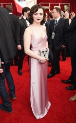 Maisie Williams at the 2017 Screen Actors Guild Awards (SGA Awards) Red Carpet on Jan. 29, 2017.