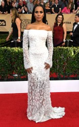 Kerry Washington at the 2017 Screen Actors Guild Awards (SGA Awards) Red Carpet on Jan. 29, 2017.