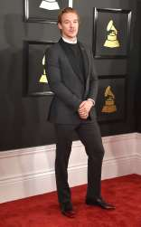 Diplo on the 59th annual Grammy Awards red carpet in Los Angeles on February 12, 2017.