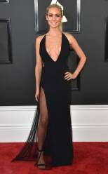 Kristin Cavallari on the 59th annual Grammy Awards red carpet in Los Angeles on February 12, 2017.